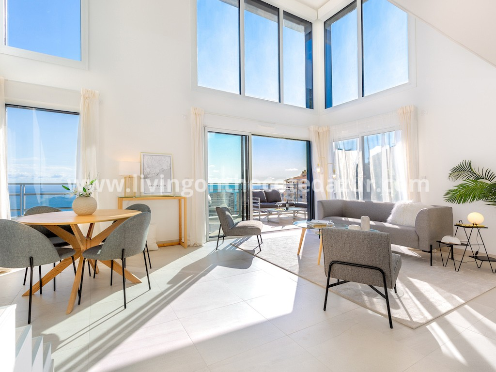 Nieuw penthouse appartement in Beausoleil